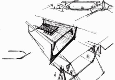 Architecture contemporaine exposition claude parent l for Architecture oblique