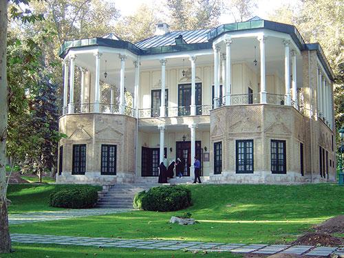 Architecture et urbanisme t h ran et dans la province d for Adresse maison blanche